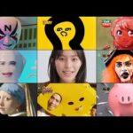 南沙良×庄司智春×ジャガーCM動画。カップヌードル